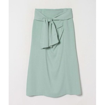 LANVIN en Bleu/ランバン オン ブルー ドレープタイトスカート ミント1 38