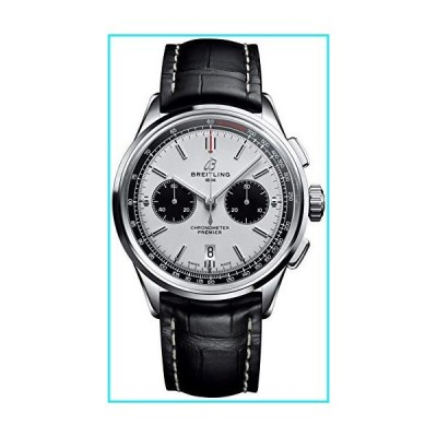 Breitling Premier B01 Panda Dial Chronograph 42mm, with Deployant Buckle AB0118221G1P1【並行輸入品】