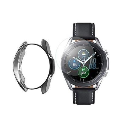 Leetoyi ケース 対応 Compatible for Samsung Galaxy Watch 3 41mm 45mmTPU超薄型オールラウンド