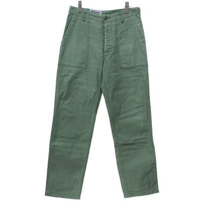 【3月22日値下】Engineered Garments ファティーグパンツ ベイカー ミリタリー カーキ サイズ:XS (三軒茶屋店)
