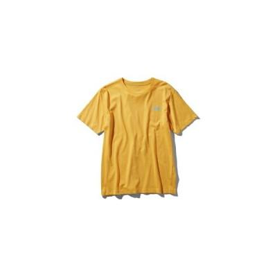【ゆうパケットOK】ノースフェイス(THE NORTH FACE) ショートスリーブヌプシコットンTシャツ メンズ (19ss) TNFイエロー NT31953-TY【特価】【SS2012】
