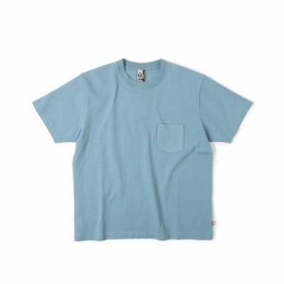 チャムス(CHUMS)ヘビーウェイト ポケット半袖Tシャツ CH01-1665-A001(Men's)