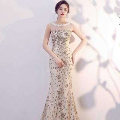 パーティードレス ロング丈 パーティードレス 大きいサイズ ワンピース ドレス ロング ワンピース マキシ ワンピース ロング ドレス 10代