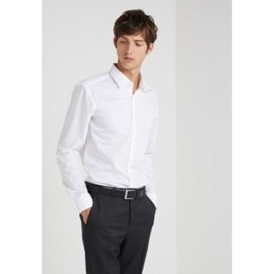 フューゴ メンズ シャツ トップス JENNO SLIM FIT - Formal shirt - open white open white