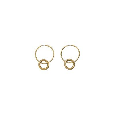 MAISON SPECIAL メゾンスペシャル 【LAURA LOMBARDI】ANELLA EARRINGS BRASSピアス レディース GLD(ゴールド) FREE