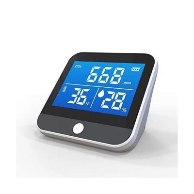 YourChecker ユアチェッカー 二酸化炭素濃度計 3-in-1 co2二酸化炭素チェッカー 室温計 湿度計 USB充電式