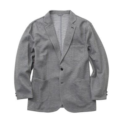 【大きいサイズ】ON・OFF使える!デザインカットソージャケット ジャケット・ブルゾン, Jackets
