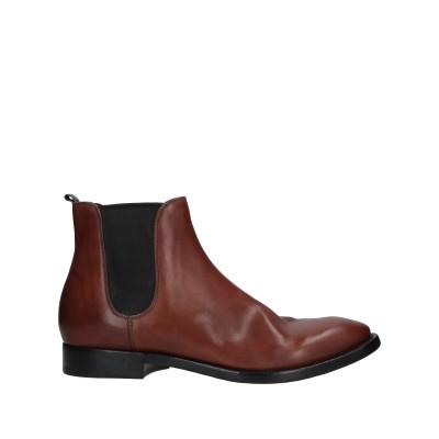 ブッテロ BUTTERO® ショートブーツ ブラウン 44.5 革 / 紡績繊維 ショートブーツ