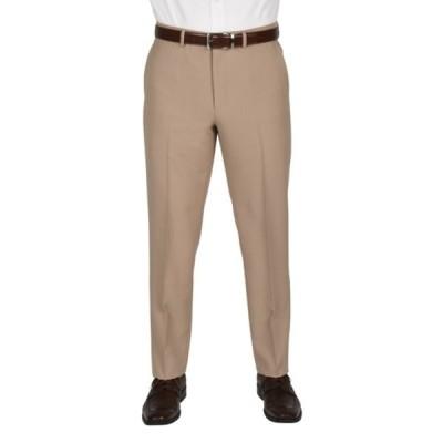"""ドッカーズ メンズ カジュアルパンツ ボトムス Solid Flat Front Stretch Waistband Slim Fit Dress Pants - 30-34"""" Inseam 212KHAKI"""