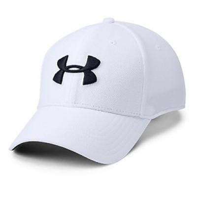 アンダーアーマー スポーツアクセサリー 帽子 19F UA MENS BLITZING 3.0 CAP 1305036 100 メンズ LGXL WHT/STL/BLK