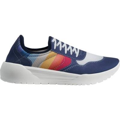 スード Psudo レディース シューズ・靴 Court Blue/Multi