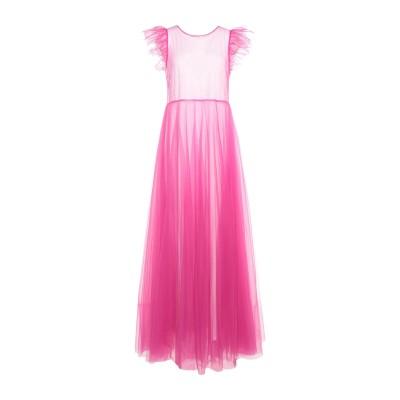 パロッシュ P.A.R.O.S.H. ロングワンピース&ドレス フューシャ XS ナイロン 100% ロングワンピース&ドレス