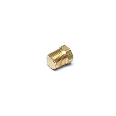"""新品未使用FasParts 1/2"""" Male NPT MPT MIP Solid Hex Head Brass Pipe Plug Fitting Fuel/欧米輸入品"""