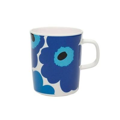marimekko (マリメッコ) マグカップ ホワイト ブルー 250ml 63431 017