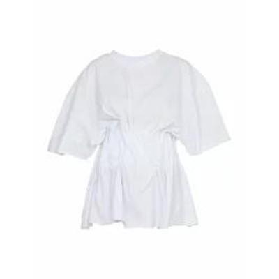 Natasha Zinko レディースその他 Natasha Zinko T Shirt With Corset WHITE