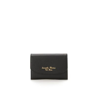 サマンサタバサプチチョイス シンプルロゴシリーズ(名刺入れ) ブラック