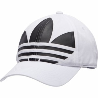 アディダス adidas Originals メンズ キャップ 帽子 relaxed big trefoil strapback White/Black