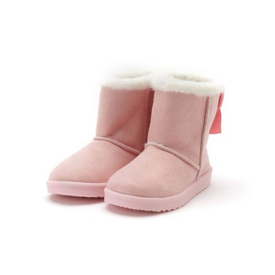 SHOO・LA・RUE / 【Disney/ディズニー】フェイクムートンブーツ KIDS シューズ > ブーツ