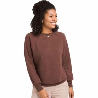 (取寄)プラナ レディース コーズィ アップ トレーナー Prana Women Cozy Up Sweatshirt Cocoa Heather