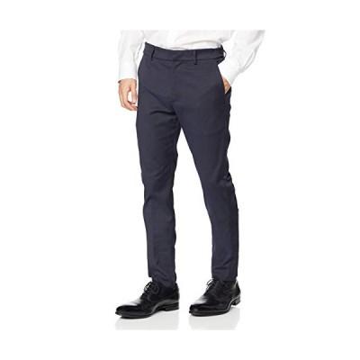 リプレイ スマートビジネス コンフォートストレッチパンツ ヘリンボーン Trousers メンズ ナイトブルー EU 34 (日本サイズXL