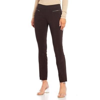 タカラ レディース カジュアルパンツ ボトムス Pull On Millennium Coordinating Zipper Dress Pants