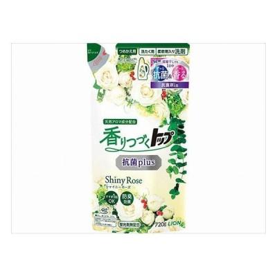 ライオン 香りつづくトップ 抗菌plus ShinyRose 詰替え用 720g 代引不可