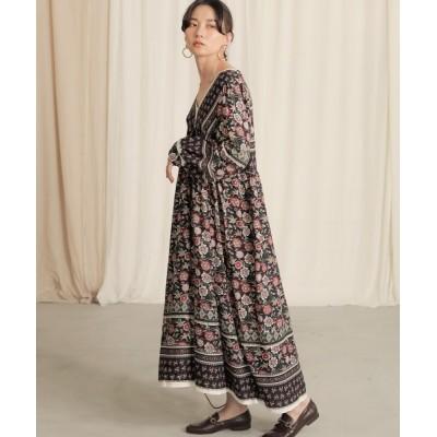 Bou Jeloud / 【WEB限定】フラワーチュニックドレス WOMEN ワンピース > ワンピース