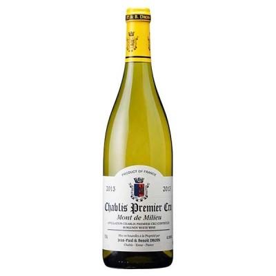 白ワイン ジャン ポール エ ブノワ ドロワン シャブリ プルミエ クリュ モン ド ミリュ 750ml (フランス 白ワイン 辛口) 稲葉 wine