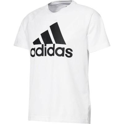 アディダス adidas ビッグロゴTシャツ 18SS メンズTシャツ BVA79-BK0936 (ホワイト)