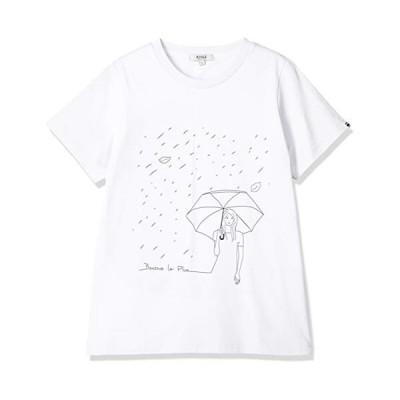 [エーグル] CUT&SEWN 吸水速乾 エーグル グラフィックTシャツ PLU レディース ホワイト 日本 00M (日本サイズM相当)