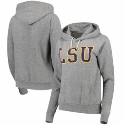 League Collegiate Wear リーグ コレクティブル ウェア スポーツ用品  LSU Tigers Womens Heathered Gray Victory Sp
