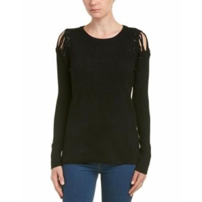 ファッション トップス Duffy Lacing Sweater Xs Black