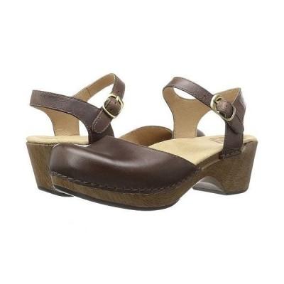 Dansko ダンスコ レディース 女性用 シューズ 靴 クロッグ ミュール Sam - Teak Vintage