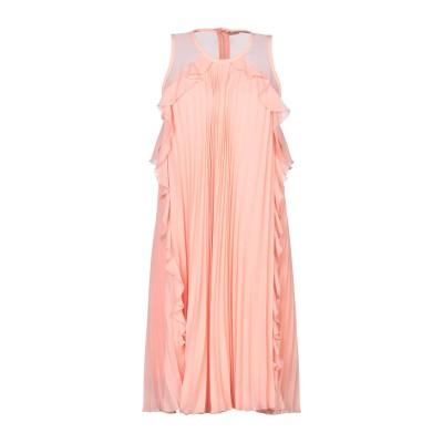 リュー ジョー LIU •JO ミニワンピース&ドレス サーモンピンク 42 ポリエステル 100% ミニワンピース&ドレス
