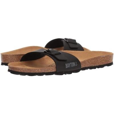 レディース 靴 サンダル Bayton Womens Zephyr Open Toe Casual Slide Sandals