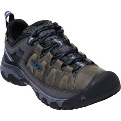 キーン メンズ ブーツ&レインブーツ シューズ Targhee III Waterproof Trail Shoe Steel Grey/Captains Blue