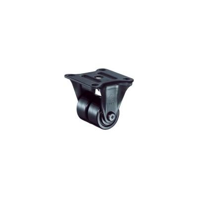 ハンマーキャスター 低床式中荷重用固定双輪ナイロンB車 38mm 550R−NRB38BAR01 1個 (メーカー直送)