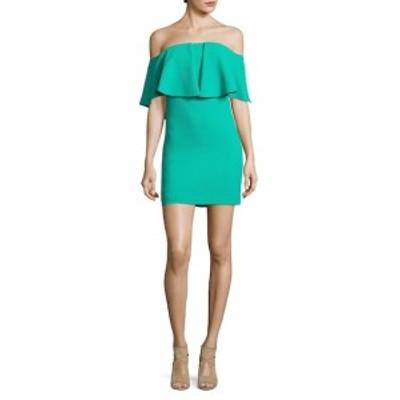 トリーナ ターク レディース ワンピース Off-The-Shoulder Mini Dress