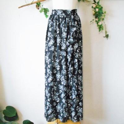 オゾック OZOC フリル の 可愛い ロング 丈 巻 スカート 38