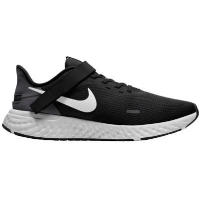 ナイキ シューズ メンズ ランニング Nike Men's Revolution 5 FlyEase Running Shoes Black/White/Grey