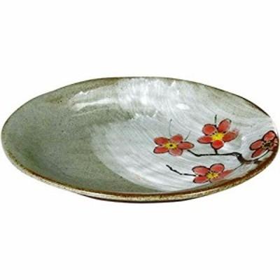ランチャン(Ranchant) 楕円皿 マルチ 14x17.3x2.5cm 化粧梅 有田焼 日本製
