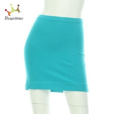 エイチアンドエム H&M スカート サイズM レディース 新品同様 ブルー系   スペシャル特価 20200719