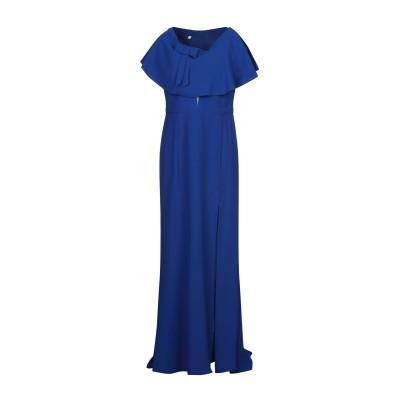 HH COUTURE ロングワンピース&ドレス ダークブルー L ポリエステル 97% / ポリウレタン 3% ロングワンピース&ドレス
