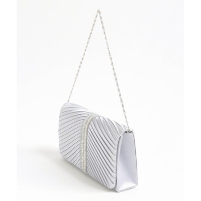 Jines / 末広がり☆プリーツフラップPARTY BAG WOMEN バッグ > クラッチバッグ