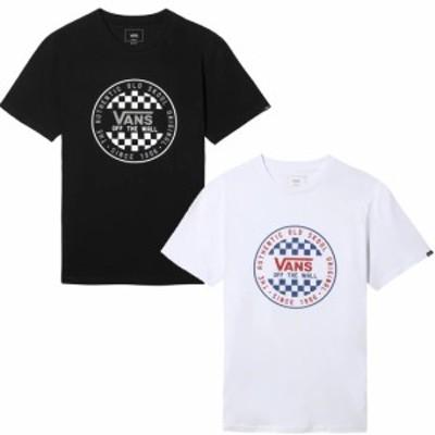 メンズ半袖Tシャツ VANS バンズ OG CHECKER SS VN0A49SY 2点までメール便配送可能 【 メール便 対応 】