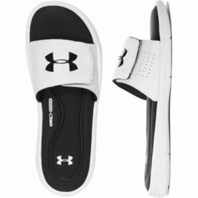 アンダーアーマー サンダル Ignite V SL Sandals White/Black