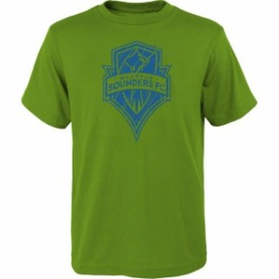 Outerstuff アウタースタッフ スポーツ用品  Seattle Sounders FC Youth Rush to Score T-Shirt - Rave Green