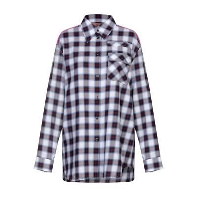 ヌメロ ヴェントゥーノ N°21 シャツ ディープパープル 42 コットン 100% / アセテート / シルク シャツ