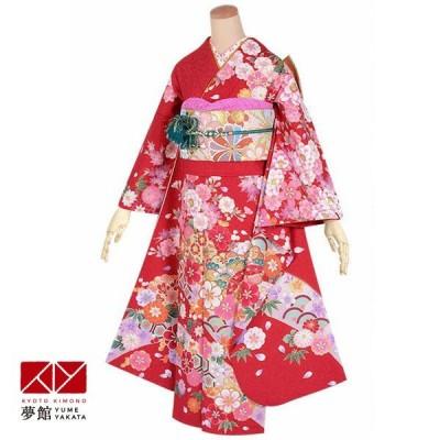 2〜11月利用 結婚式 振袖 レンタル 赤 花尽くし(絹) 一点物 対応身長160〜164cm R1648