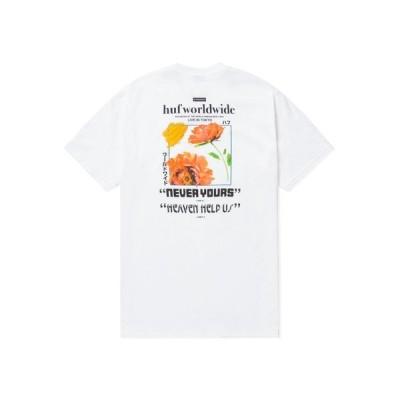 tシャツ Tシャツ NEVER YOURS S/S TEE HUF ハフ Tシャツ